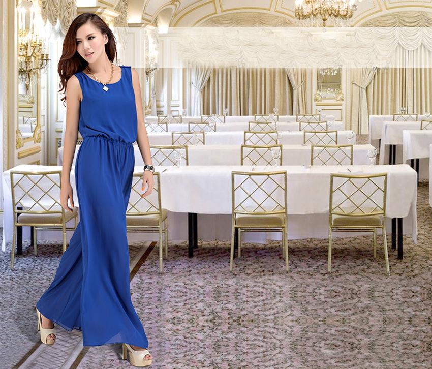 Chiffon Lace Jumpsuits mono mujer largo casual body suits for women combinaison pantalon femme elegante Wide leg pants 6