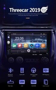 "Image 2 - 2din araba radyo 7 ""dokunmatik mirrorlink Android 9 oyuncu subwoofer MP5 oynatıcı Autoradio Bluetooth dikiz kamera teyp"