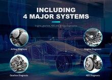 XTOOL EZ400 PRO attrezzo diagnostico Auto Professionale programmatore chiave Auto OBD2 Scanner Lettore di Codice di regolazione del contachilometri Aggiornamento on line
