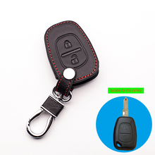 New design Genuine Leather cover wallet key remote case For Opel Vivaro Movano Renault Traffic Kangoo