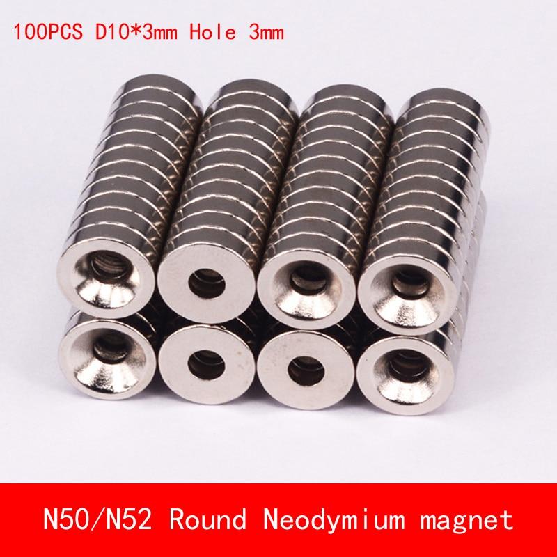 6Pcs Small Mini Neodymium Magnets 10*10mm Round Rare Earth Neo N50 Strong