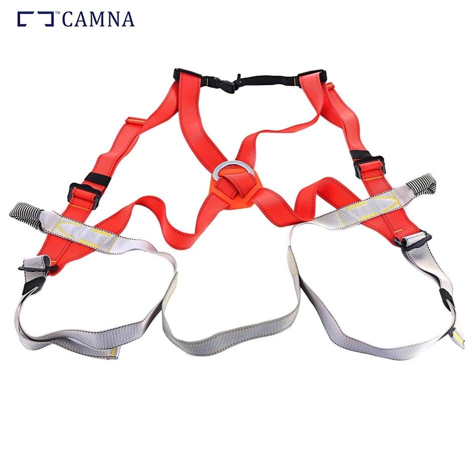 CAMNA escalade harnais rocher spéléologie ceinture de sécurité corps garde Protection antichute équipement sécurisé pour l'escalade