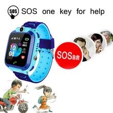 LIGE Smart Watch For Children Kids Baby Phone 2G Sim Card Dail Call Touch Screen Waterproof Clock Smartwatches+Box