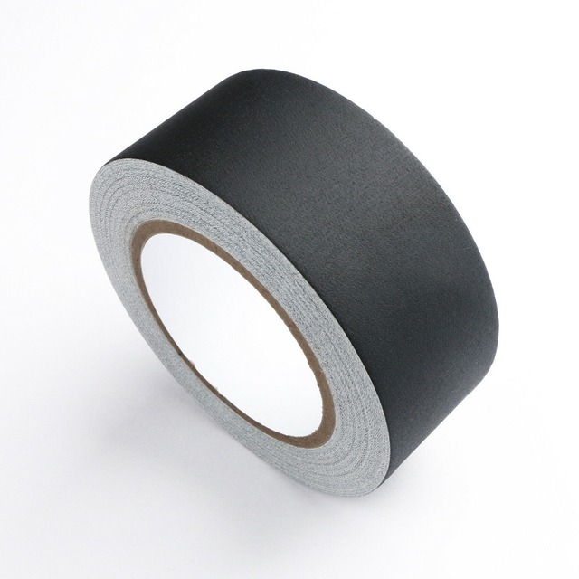 Gaffer Tape Non Reflective Black Water Proof Tape 2″ x 30 yard by U.S. Solid