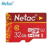 Netac Micro SD Card 32GB Class 10 TF Card 32GB Classic Red Flash Memory Card For Smartphon
