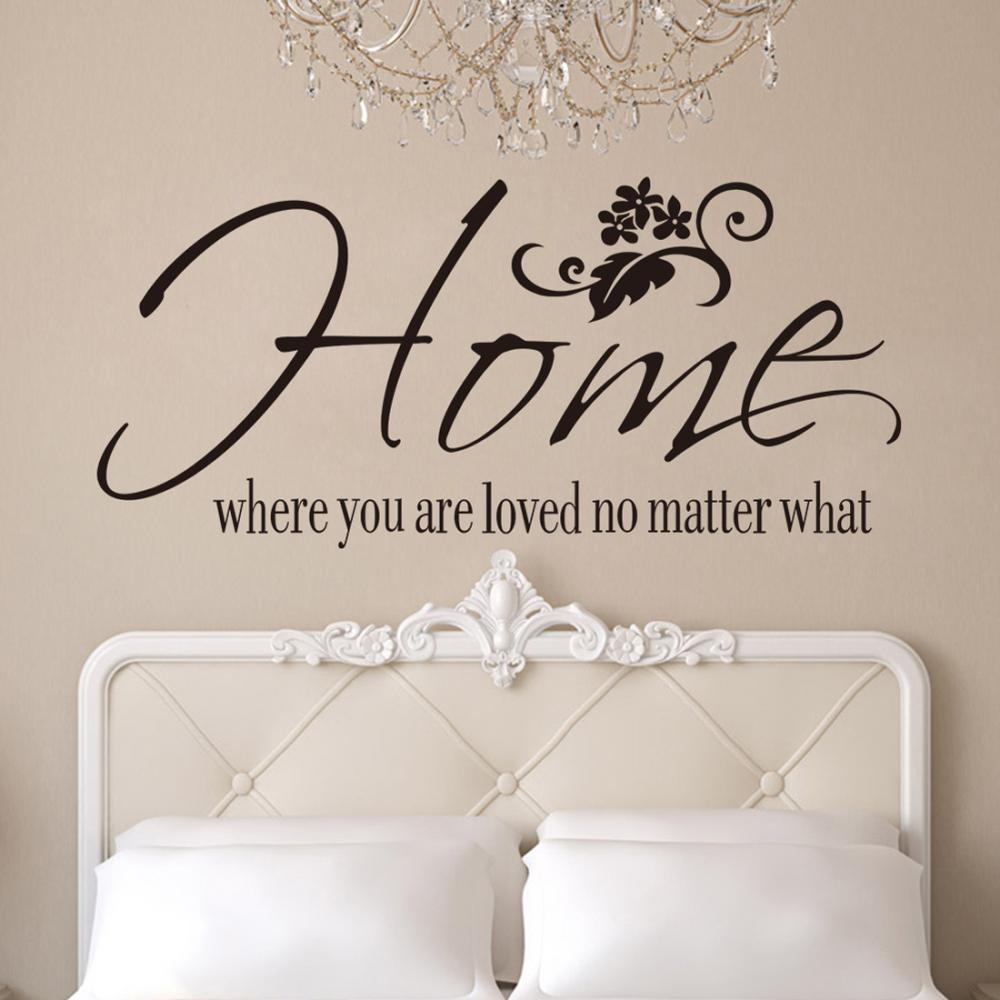 New Home Quotes Hot Free Shipping New Home Where You Are Love No Matter What Wall