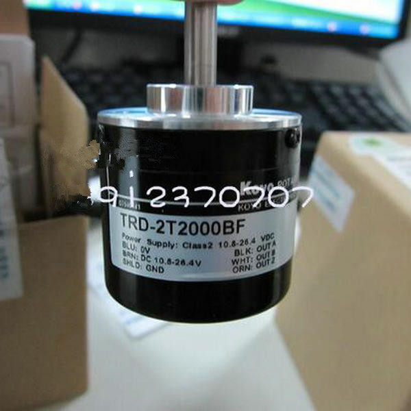 Good price japan incremental encoder opto linear sensor rotary shaft encoder TRD-2T2000BF TRD-2T2048BF dhc40m6 500 pulse encoder incremental solid shaft rotary encoder sensor