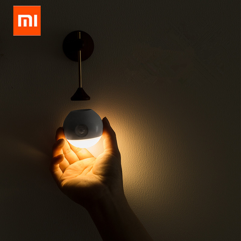 Xiaomi Mijia sothing Sunny Smart Sensor Night Light Infrared Induction USB Charging Removable Night Lamp For xiaomi smart homeXiaomi Mijia sothing Sunny Smart Sensor Night Light Infrared Induction USB Charging Removable Night Lamp For xiaomi smart home