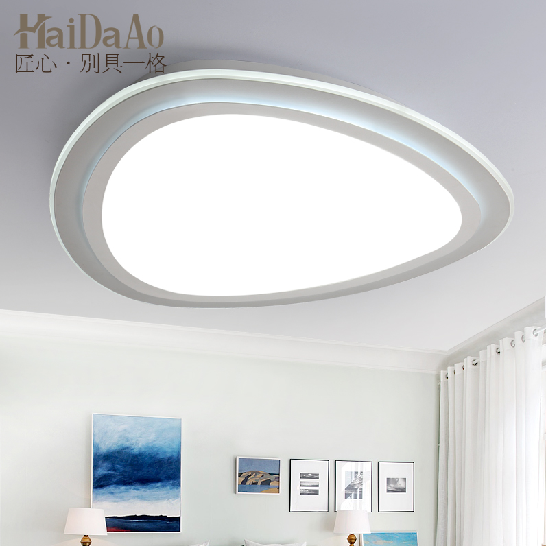 extremely light adjustment LED ceiling light living room modern simple warm personality room lamp master bedroom light|Ceiling Lights| |  - title=