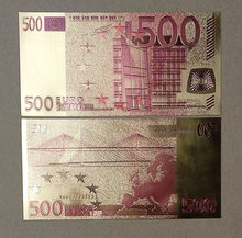 EU 500 EURO Golden Note 160mm*80mm(China)