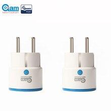 NEO COOLCAM – prise d'alimentation intelligente Zwave, 2 pièces/lot, domotique, prolongateur de plage Z Wave, fonctionne avec Wink,SmartThings