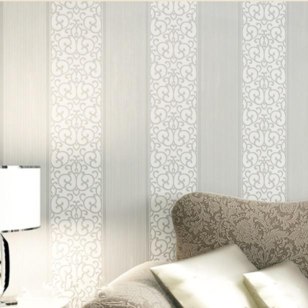 Calming Silver Wallpaper For Bedrooms  18  New Silver gray Non woven  Flocking Simple. Silver Wallpaper For Bedrooms   Eddiemcgrady com