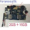레노버 p70t P70-t p70 전화 마더 보드 카드 요금 회로 플렉스 케이블 교체 카메라 용 오리지널 메인 보드