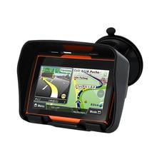 New 256M RAM 8GB Flash 4.3 Inch Moto GPS Navigator Waterproof Motorcycle gps Navigation Free Maps