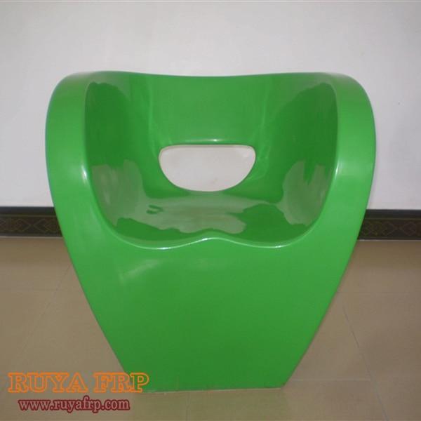 Ruya Modern Garden Chairs Interior Decorations Fibergl Creative Furniture Reception Room Waiting Chair Easy Clean