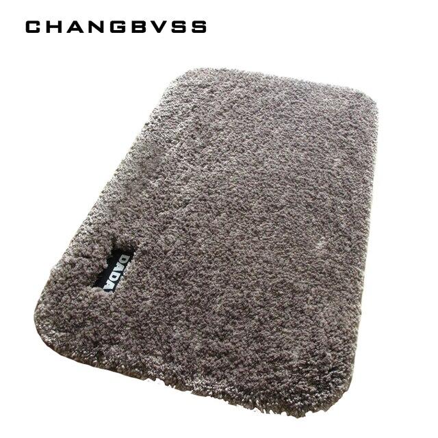 Luxury Fluffy Bathroom Bath Mat 5 Colors Floor Mat Carpet Mattress For  Bathroom Absorption 3 Sizes