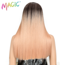 hot deal buy magic hair straight lace front wigs for black women 20