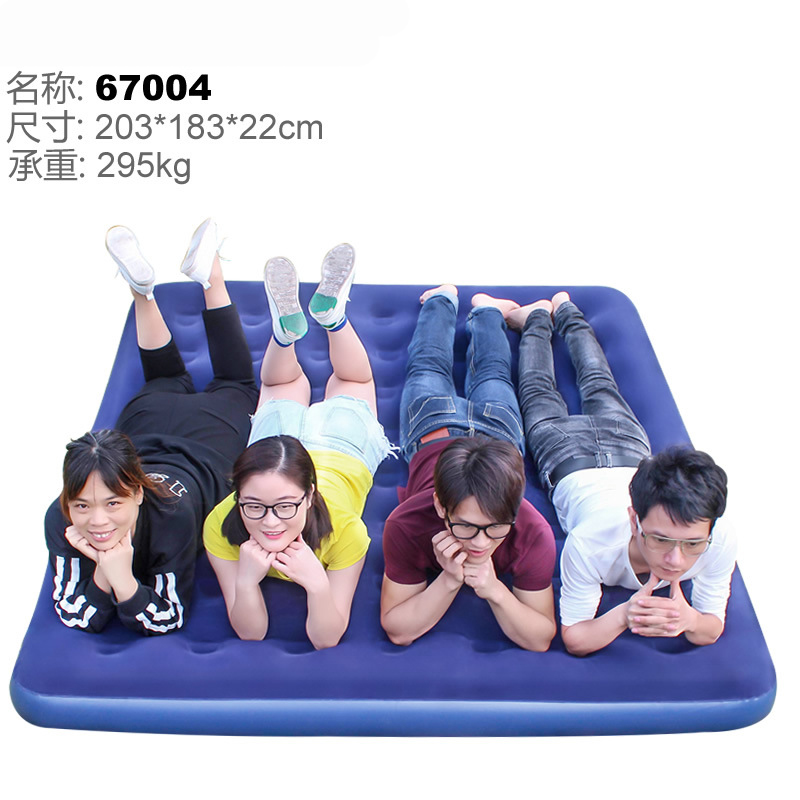Inflatable mattress inflatable bed 2 4persons household gas filled bed outdoor portable air cushion bed 203