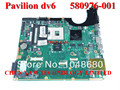 580976-001 para hp pavilion dv6 dv6-2000 series laptop motherboard da0up6mbf0 rev: f g105m/512 mainboard 100% tested90dayswarranty
