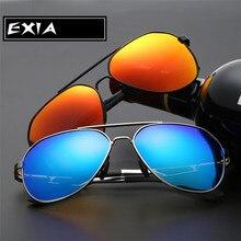 Men Sunglasses AR Coated Blue Polarized Lenses EXIA OPTICAL KD-8125 Series