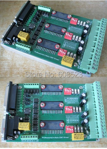 3 Axis TB6560AHQ 3A Motor Driver Stepper Board Controller CNC Router Milling - Hardware Daquan store