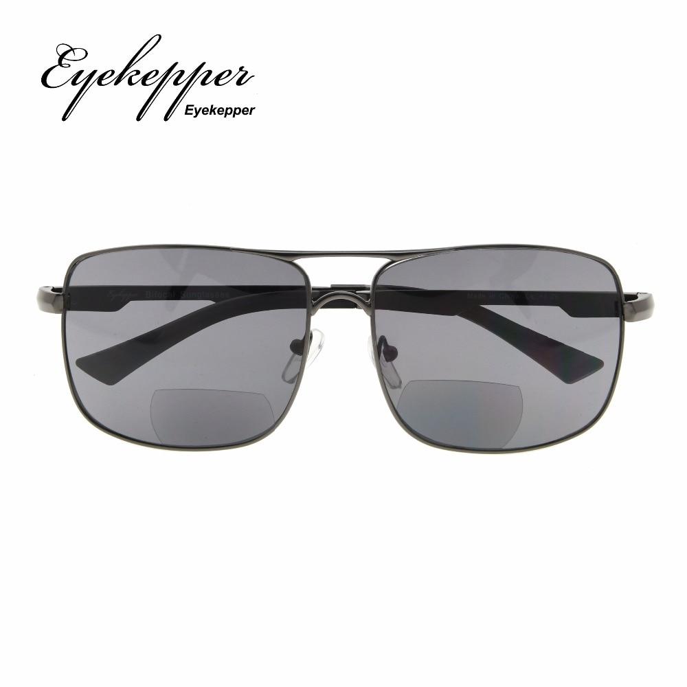 52a31e8e598 PGSG804 Eyekepper Polycarbonate Polarized Bifocal Sunglasses Pilot Style  Bifocal Sun Readers Outdoor Reading Glasses +1.50~+2.50-in Reading Glasses  from ...