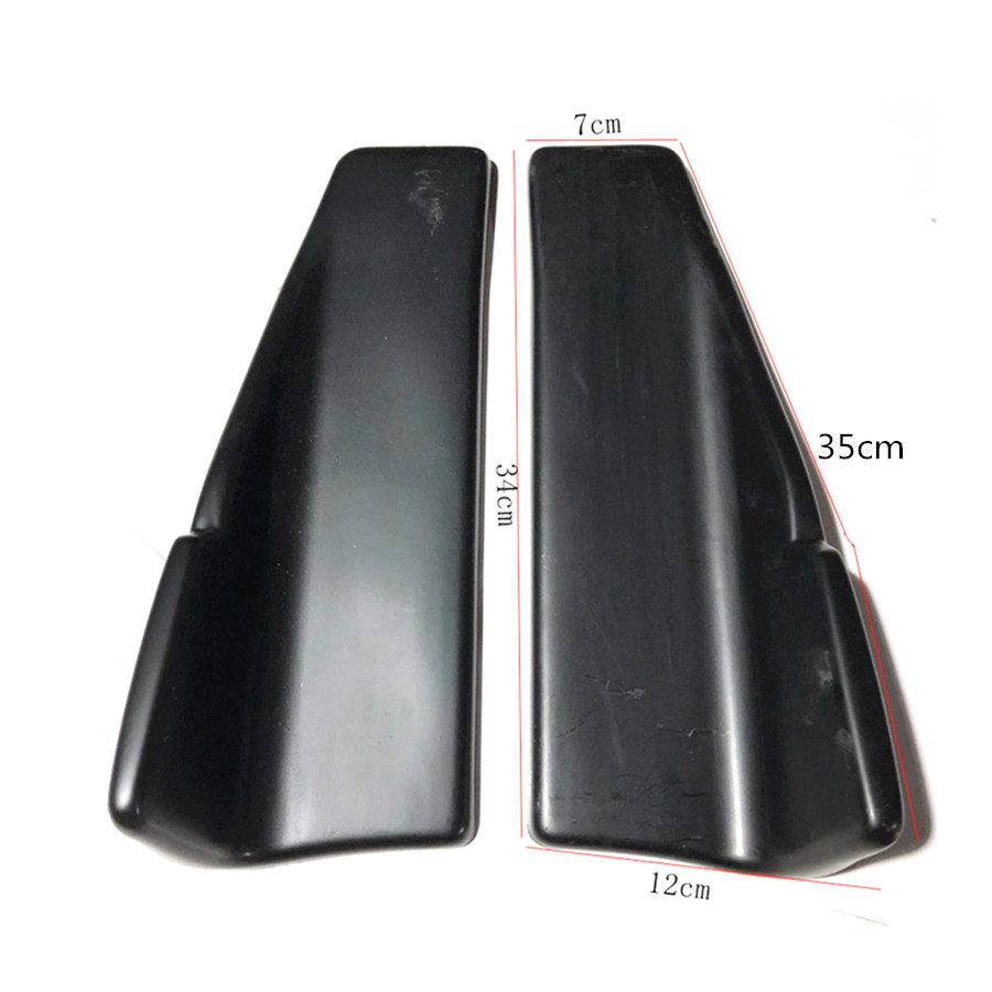 Image 4 - 2Pcs Car Rear Lip Side Skirt Bumper Spoiler Rear Lip Angle Splitter Diffuser Anti crash modified Splitters Diffuser Winglet-in Bumpers from Automobiles & Motorcycles