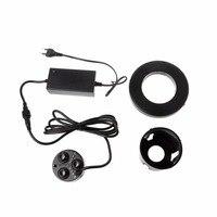 3 Head Mist Maker Atomizer Ultrasonic Air Humidifier Fogger Nebulizer EU US Plug