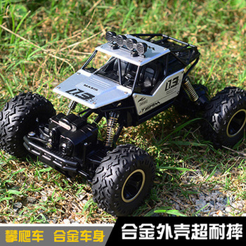 1/16 Alloy Body Shell Crawler RC Buggy Car 2.4G 4WD High Speed Climbing Car Free Free shipping image