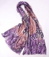 exquisite printed 100%goat cashmere women fashion twill scarf shawl pashmina 70x200cm retail wholesale mix bulk