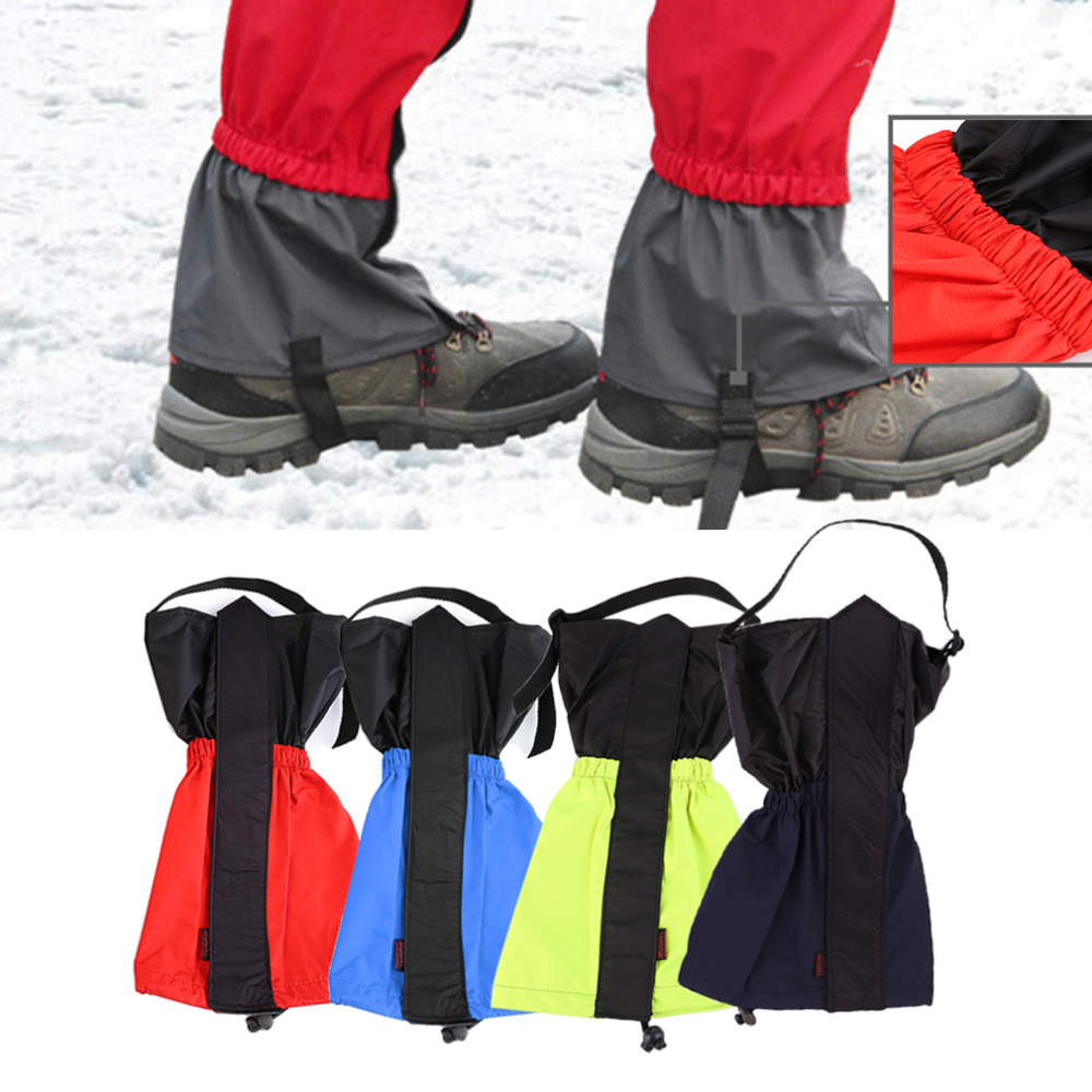 1 pair Gaiters Hiking Gaiters Outdoor Waterproof Walking Mountain Hunting Trekking Desert Snow Legging Gaiters drop shipping|Cycling Legwarmers|   - AliExpress
