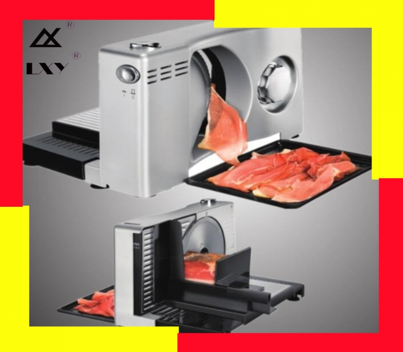 Household Electric Food Slicer Fruit Lamb Slices Shred Cut The Meat Planing Machine Adjustable Thickness