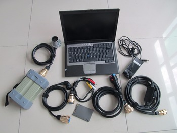 mb star c3 diagnostic tool with d630 laptop+super ssd newest software all cables full set ready to use