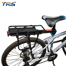 Bike Luggage Rear Carrier Rack Stacking Quick Release Seat Shelf Bicycle Load 50Kg Luggage Cycling