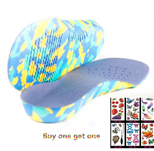 Kids Children Orthopedic Insoles for Children Shoes Flat font b Foot b font Arch Support Orthotic