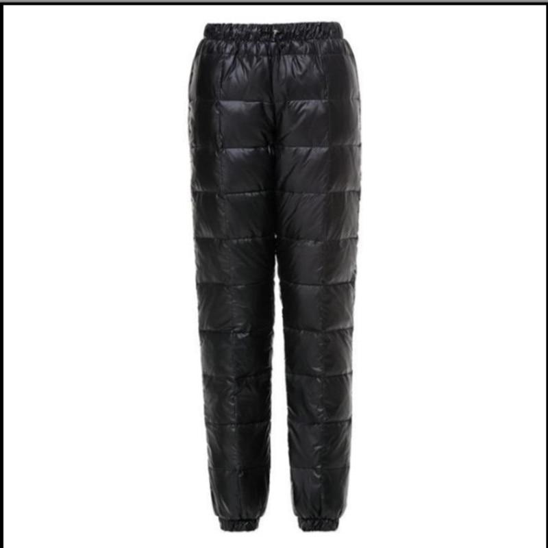 Mens Winter Warm 90/% Down Ultralight Puffer Duck Down Pants Outdoor Trousers NEW