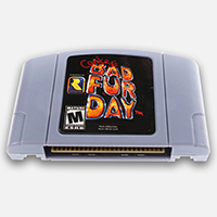 Conker's Bad Fur Day English Language for 64 bit USA/EU Version Video Game Cartridge Console