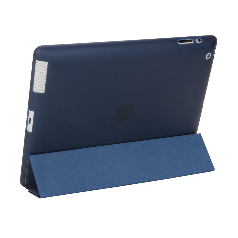 Case For Ipad 2 3 4, Ultra Slim PU Leather Flip Cover Soft TPU Back Magentic Smart Case For Ipad 2 3 4 A1430 A1460