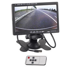 LCD Color HD Screen Display  7″ TFT Monitor  drone with camera For Car SUV Reversing Parking Camera