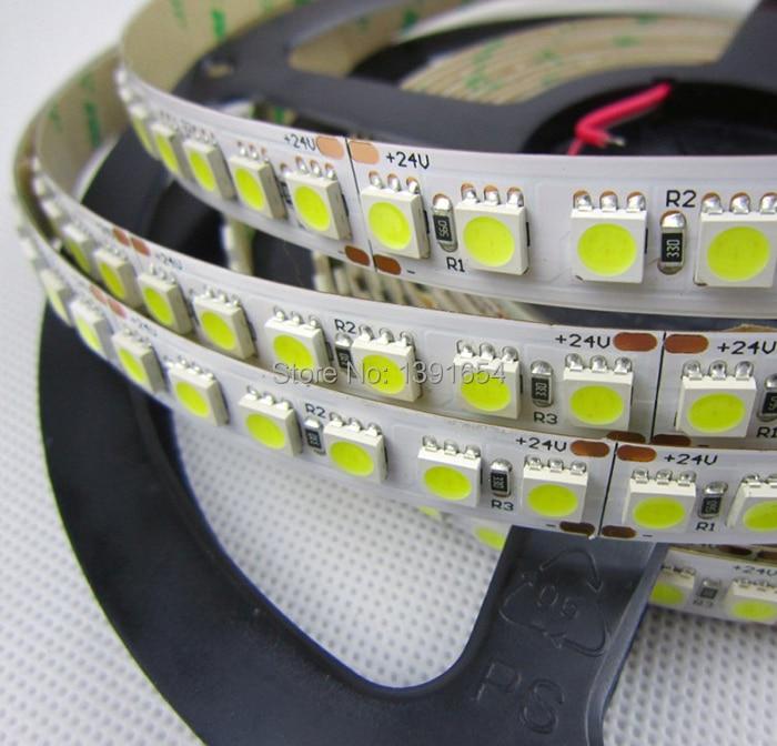 28.8W / M 12MM PCB CE ROHS 5050 LED շերտով 120leds / M 600leds - LED լուսավորություն - Լուսանկար 4