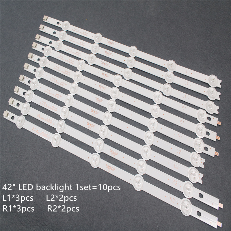 10 Pieces/lot New LED Backlight Bar For 42