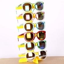 Органайзер для ювелирных изделий, 6 пар пластиковых солнцезащитных очков