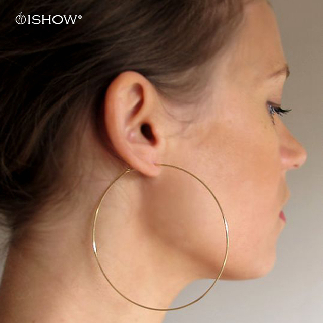 Simple Thin Gold Hoop Earrings 20 70 Mm Lightweight Hoops Minimalist Silver