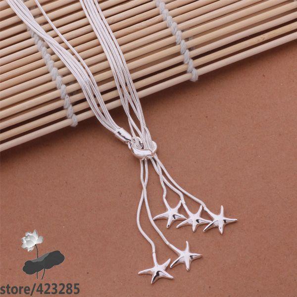 AN443 collar de plata de ley 925, joyería de moda de plata 925/dswamkda ifuaqxba