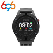 696 F5 GPS Smart watch Altimeter Barometer Thermometer Bluetooth 4.2 Smartwatch Wearable devices for iOS Android