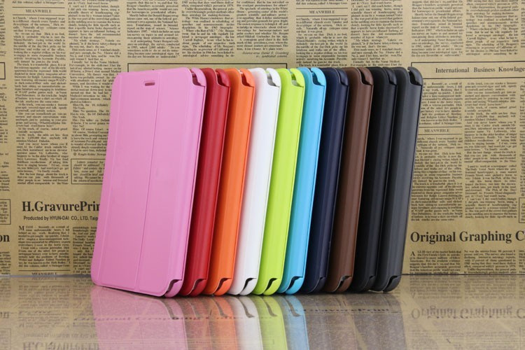 2017 new 7 inch Business Folding Stand  Case For Samsung Galaxy Tab 2 7.0 P3100 P3113 P3110 tablet Cover  free shipping + Stylus