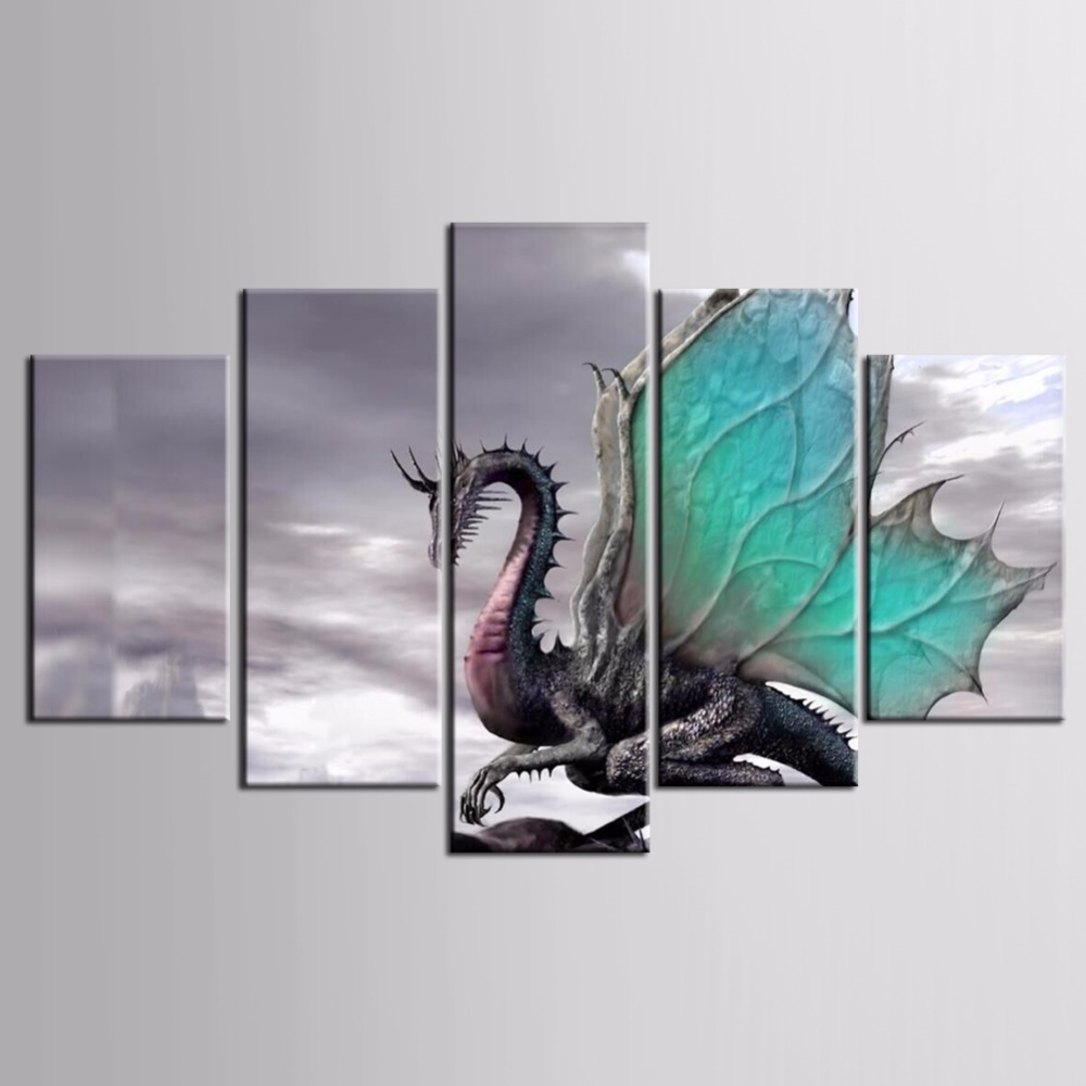 TOP Sale 5pieces / set of Poster series wall art for wall decorating home Decorative painting on canvas framed/FJ-MB-E