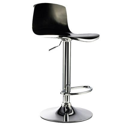 Nordic Bar Furniture Chair Home computer lift stool retail wholesale free shipping black color one lux acrylic bar stool for home lucite bar chair high chair club bar furniture