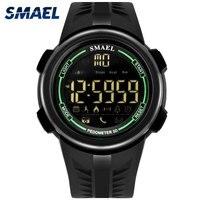 SMAEL Smart Watch Sport Digital Man Watch 2017 Brand Luxury Stopwatch Waterproof Led Watches 1703 Military