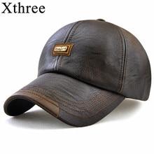 1ceaa8bf5d197 Xthree fall winter casual snapback baseball cap hat
